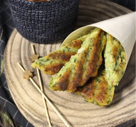 Vegetable and meat fritters